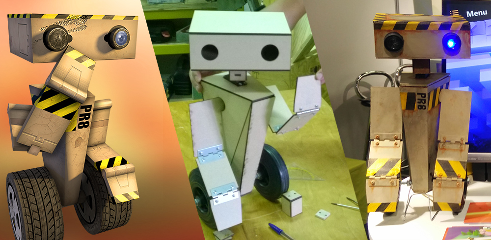 How we made a real life PR8 robot