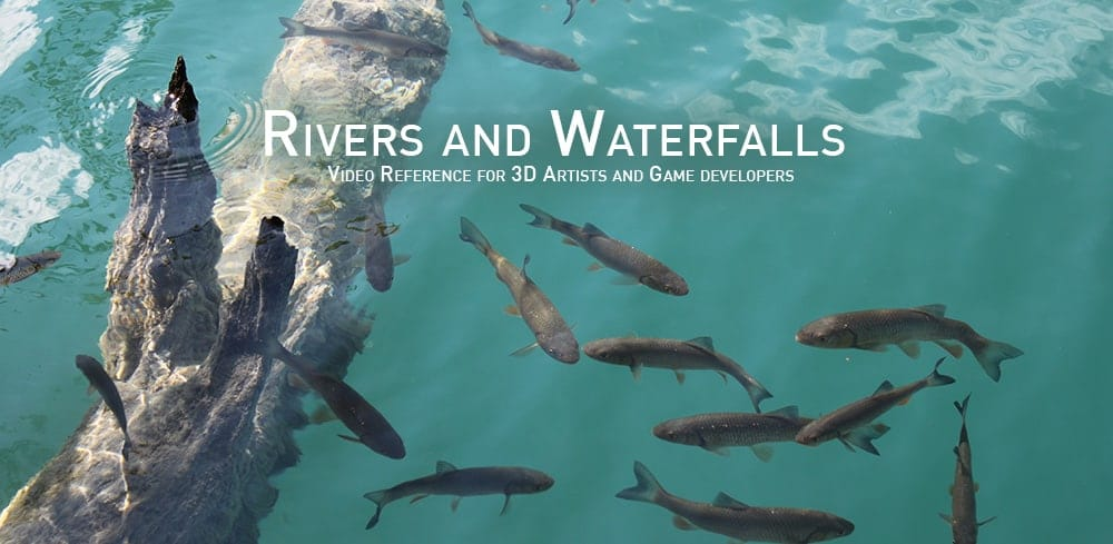 Rivers and Waterfalls – Video Reference for 3D Artists and Game developers