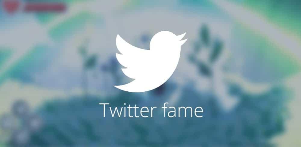 Twitter fame