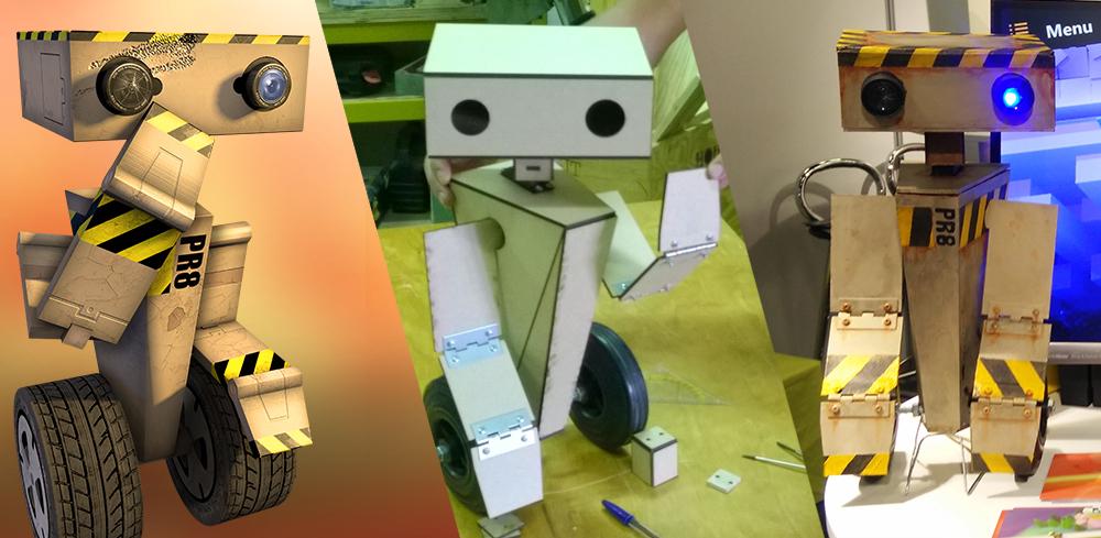 How we made a real life PR8 robot