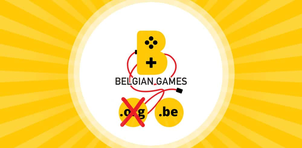 BelgianGames gets it's .be domain