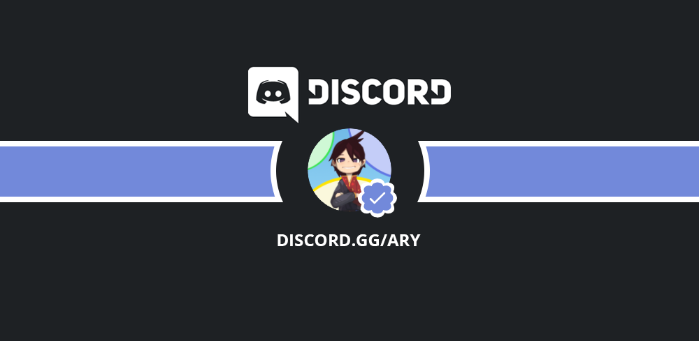 Our Discord server Ary is verified