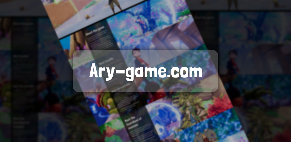 Ary get a brand new website