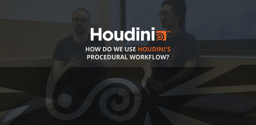 how do we use Houdini's procedural workflow?