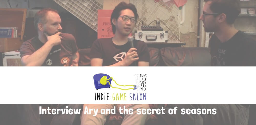 Interview about Ary at Indie Game Salon (Video)