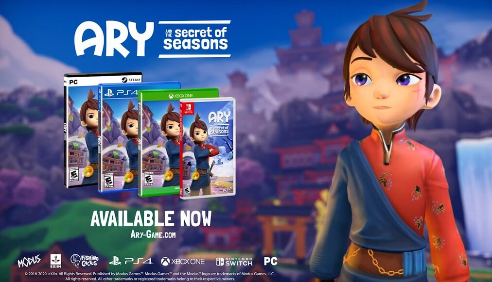 Ary and the secret of seasons is out!