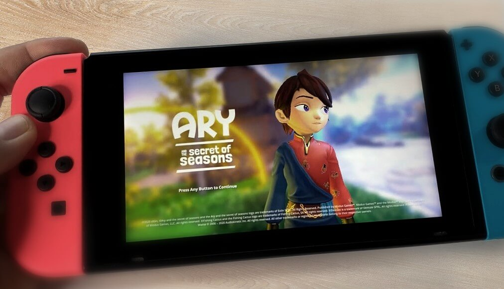 Nintendo Switch update – Ary and the Secret of seasons