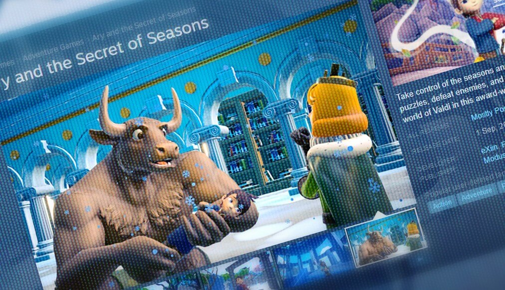 Steam Patch 2 – Ary and the secret of seasons